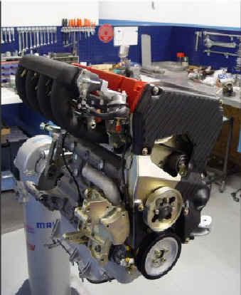 Frontansicht Delta Integrale Motor
