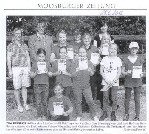 Moosburger Zeitung 28.06.2012