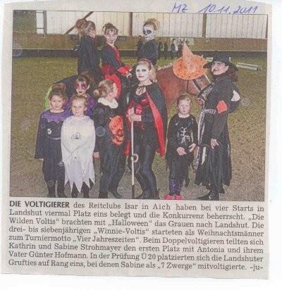 Moosburger Zeitung 10.11.2011