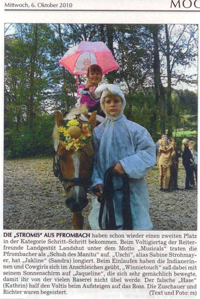 Moosburger Zeitung 06.10.2010