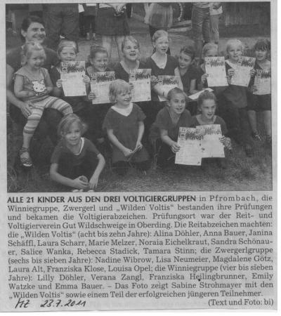 Moosburger Zeitung 23.07.2011