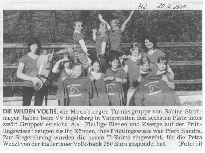 Moosburger Zeitung 20.04.2011