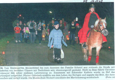 Moosburger Zeitung 13.11.2009