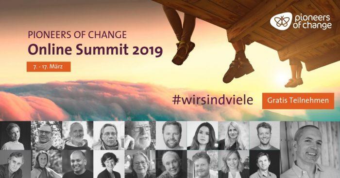 Pioneers of Change Summit 2019 - kostenlose Anmeldung *