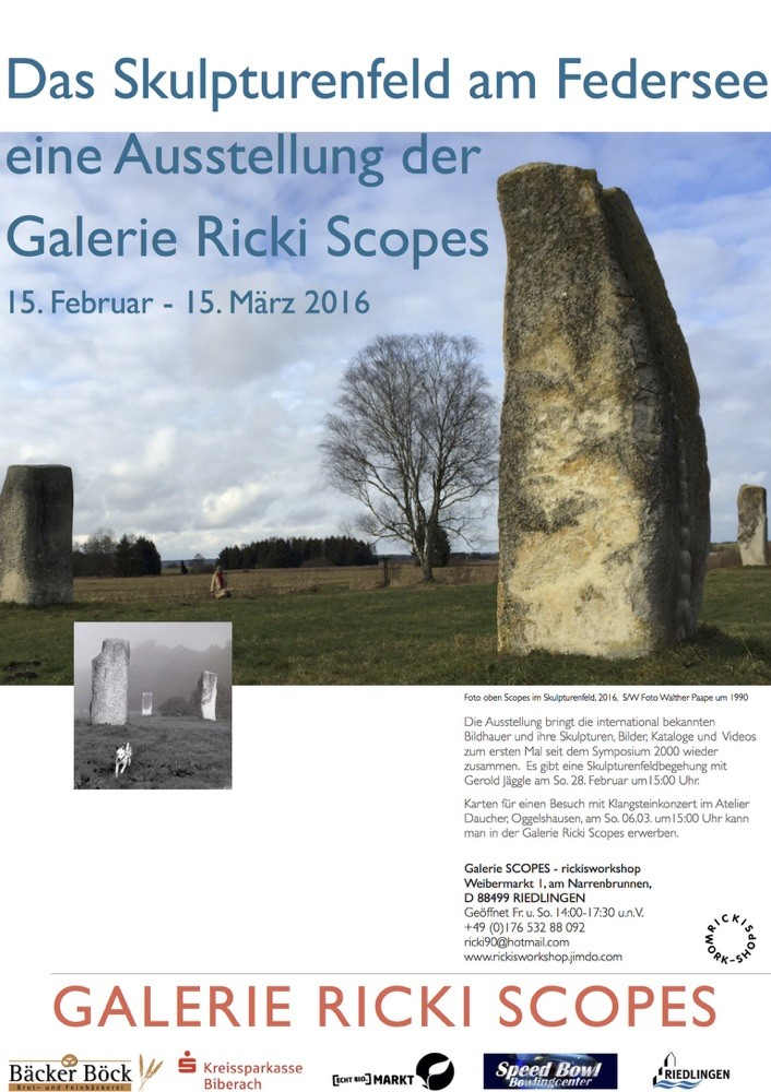 New exhibition sculpture landscape revisited