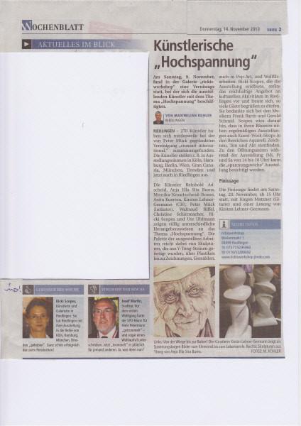 Wochenblatt 14.11.13