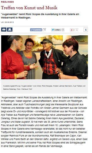 Alb Bote, Südwestpresse 23.05.2012