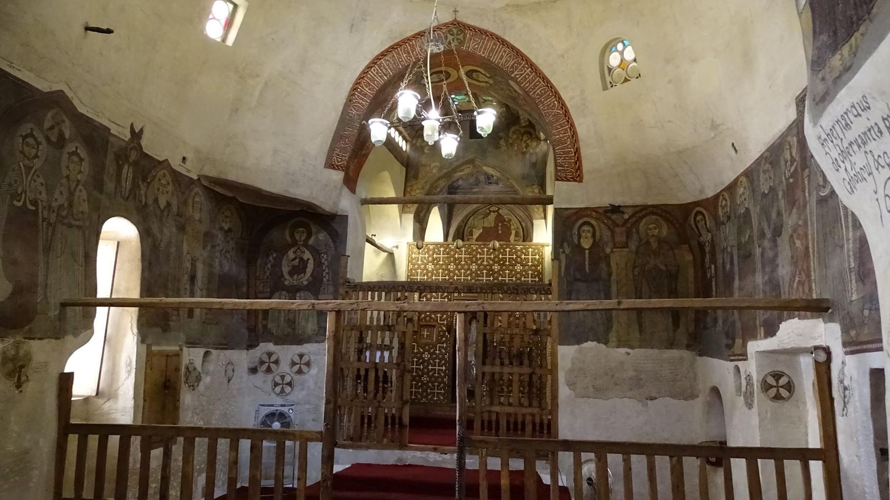 ... mit dem Altar für St. Antonius.