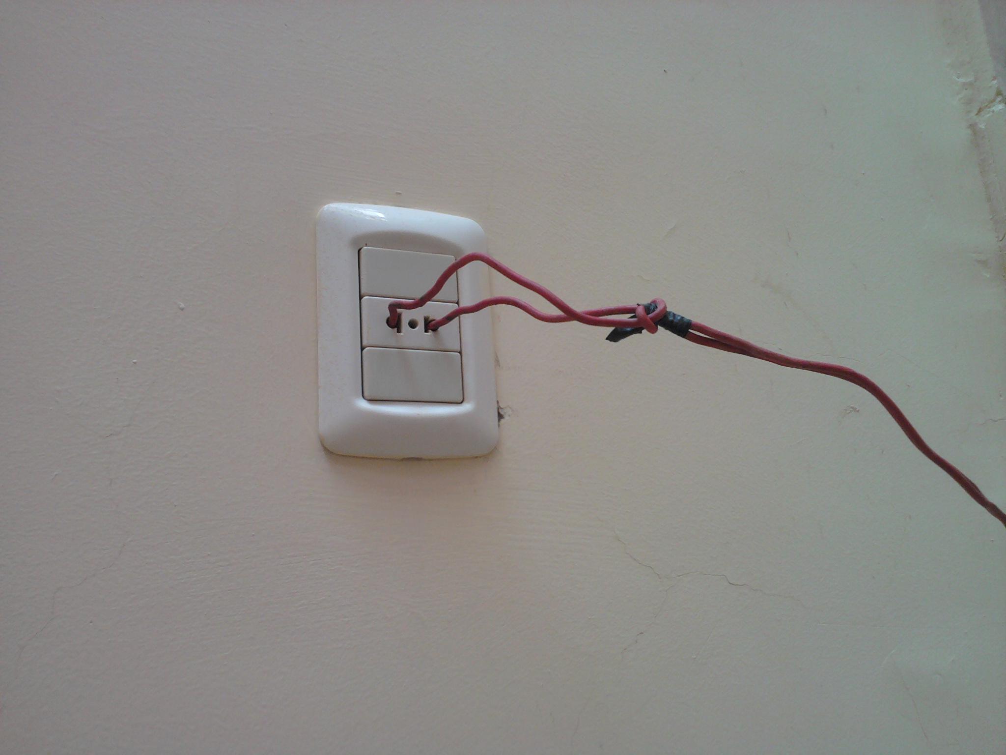Stromstecker auf ägyptisch