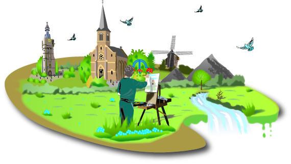 Illustration pour le site de La Palette Régionale