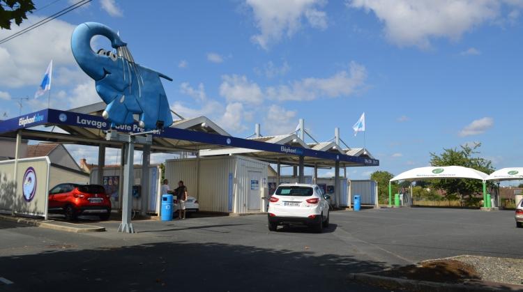 Station de lavage Éléphant Bleu - Châteauroux (Argenton)