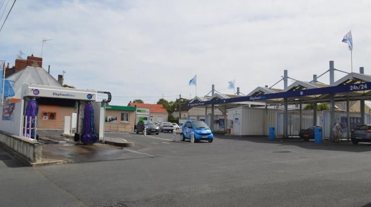 Station de lavage Éléphant Bleu - Châteauroux (Bryas)