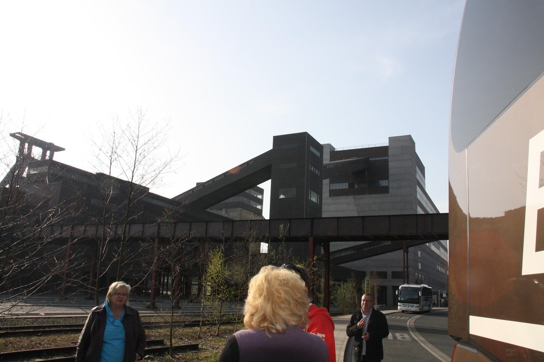 """Besichtigung des Weltkulturerbe """" Zeche Zollverein """" in Essen"""