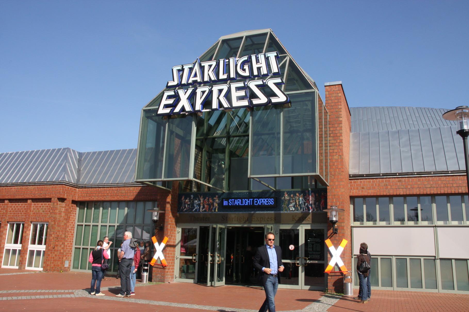 "Besuch vom "" Starlight Express "" in Bochum"