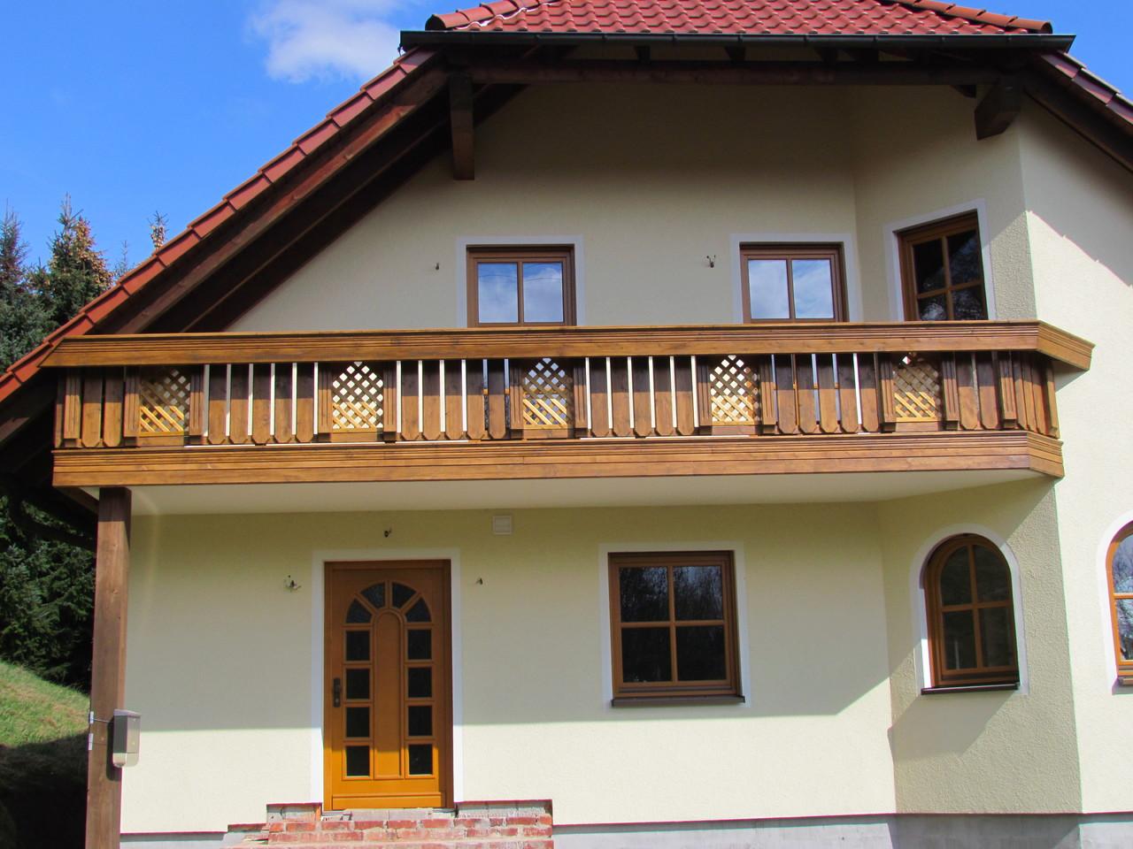 Profilierter Balkon