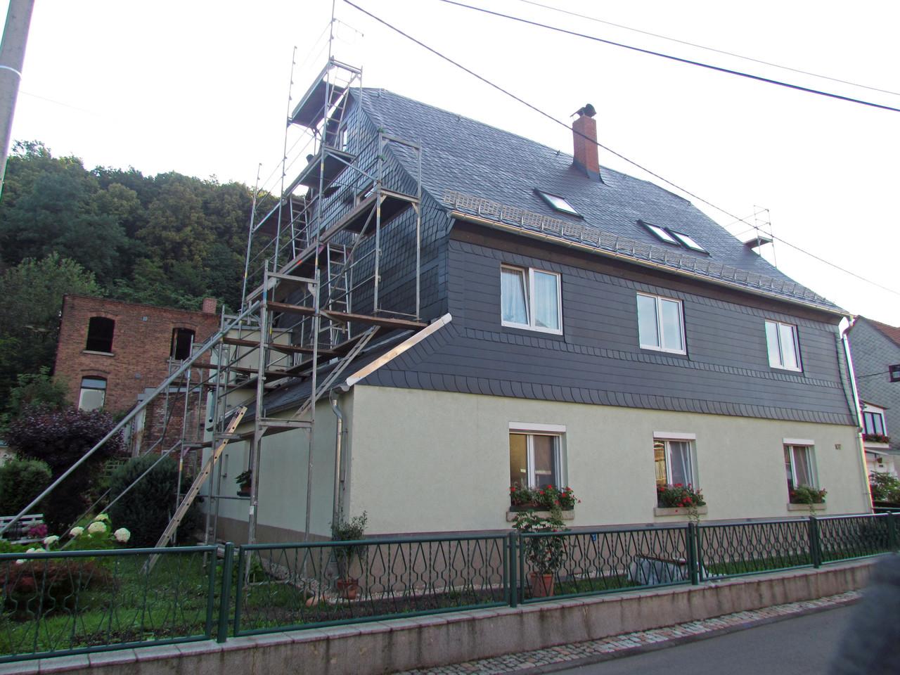 Schieferdach