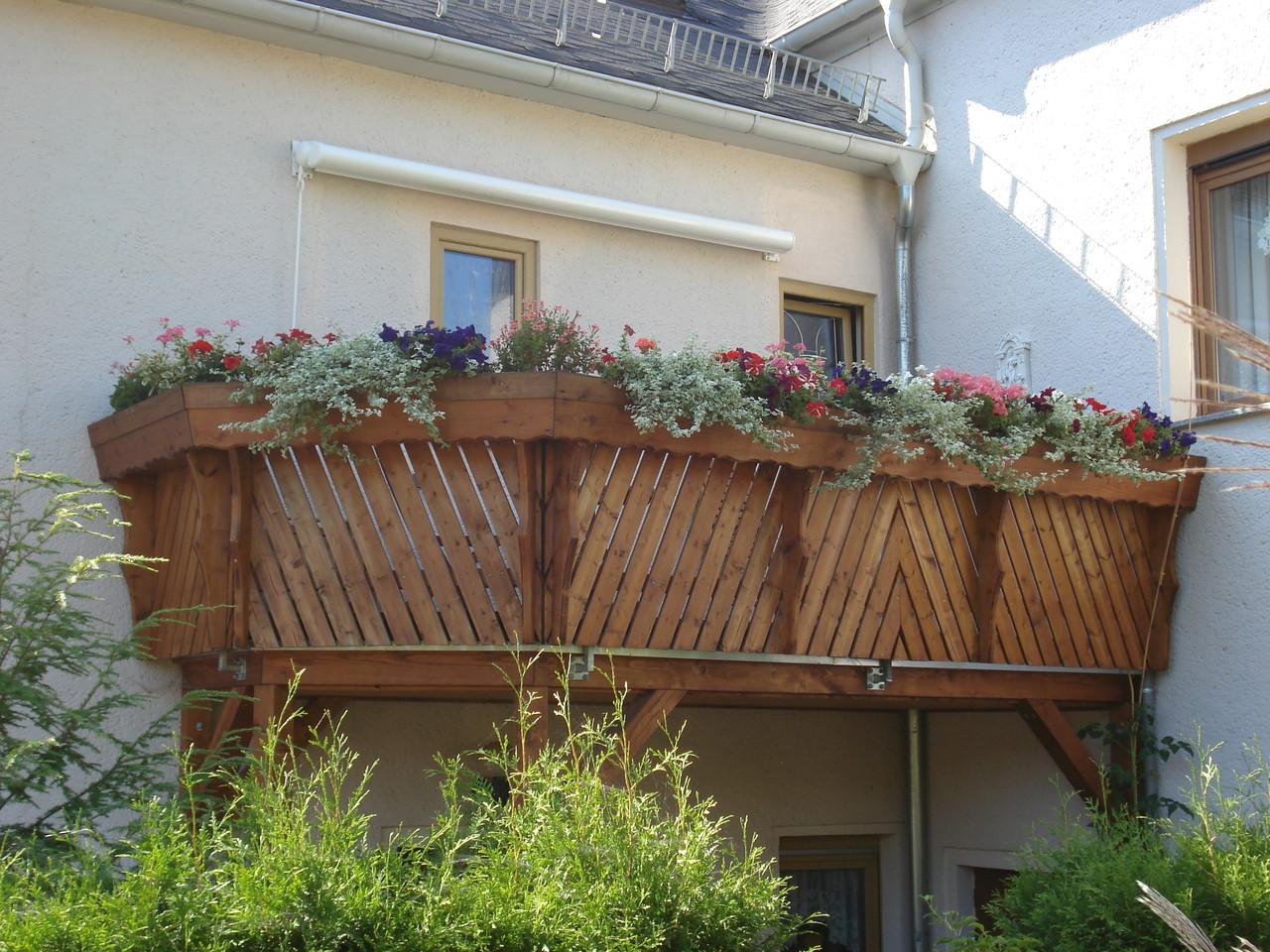 Anbau eines Balkons