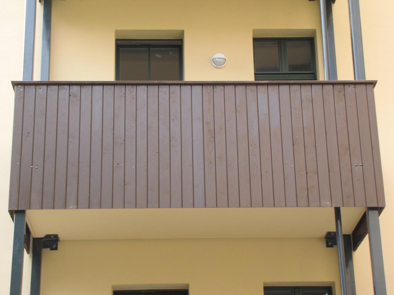 Balkonanlage in Chemnitz