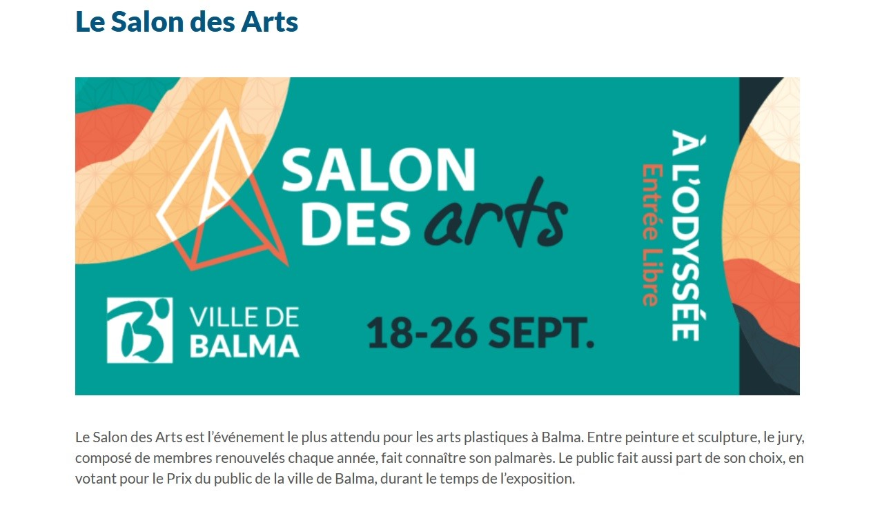 36ème salon des Arts de Balma