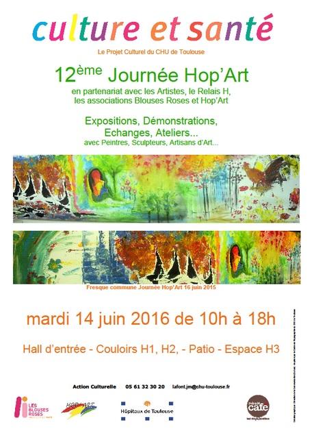 """""""Hop'Art"""" 2016, projet culturel du CHU de Toulouse"""