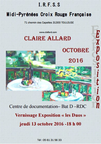Expo Claire Allard IRFSS