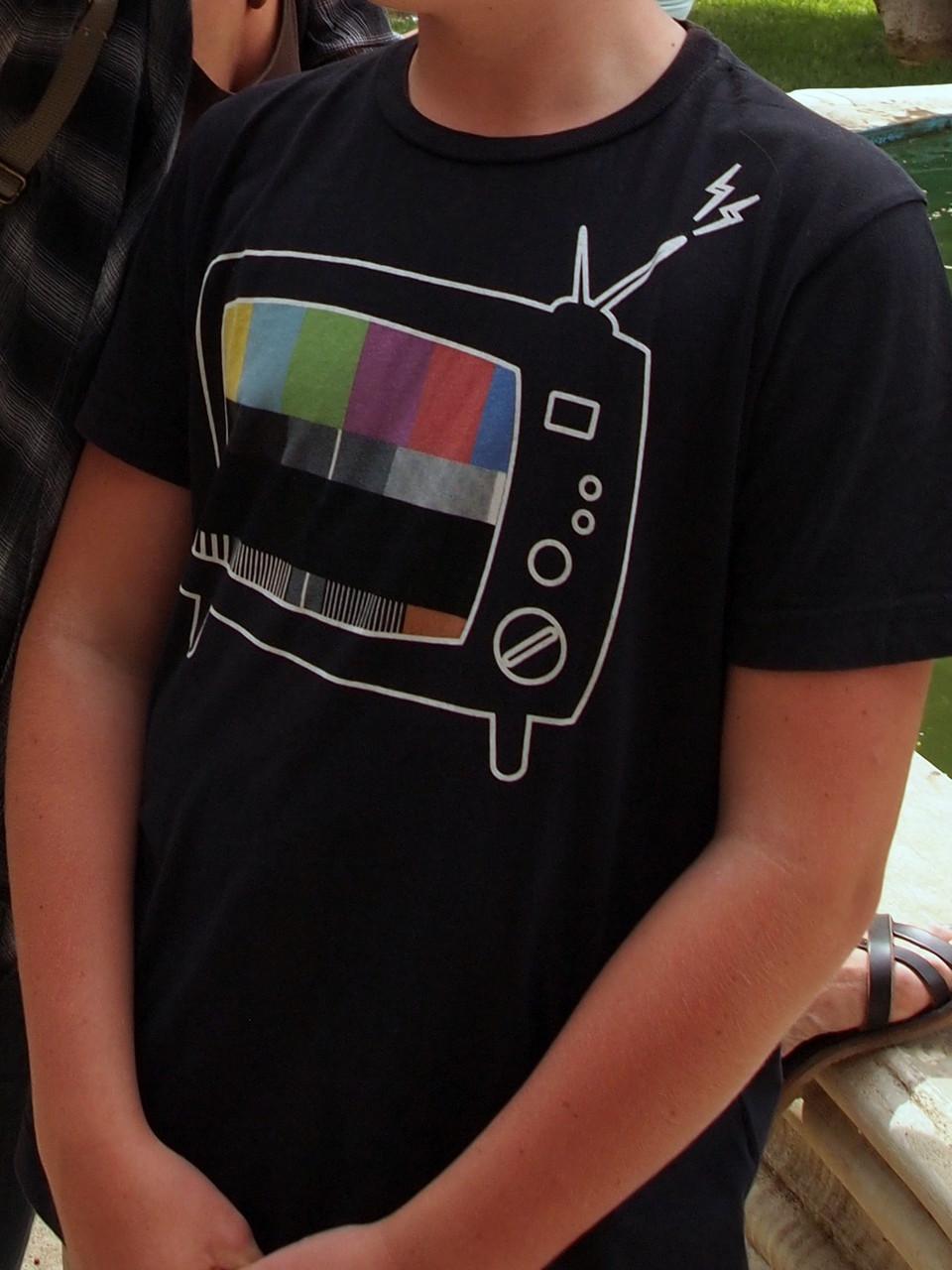 T-Shirt passt nicht mehr ....
