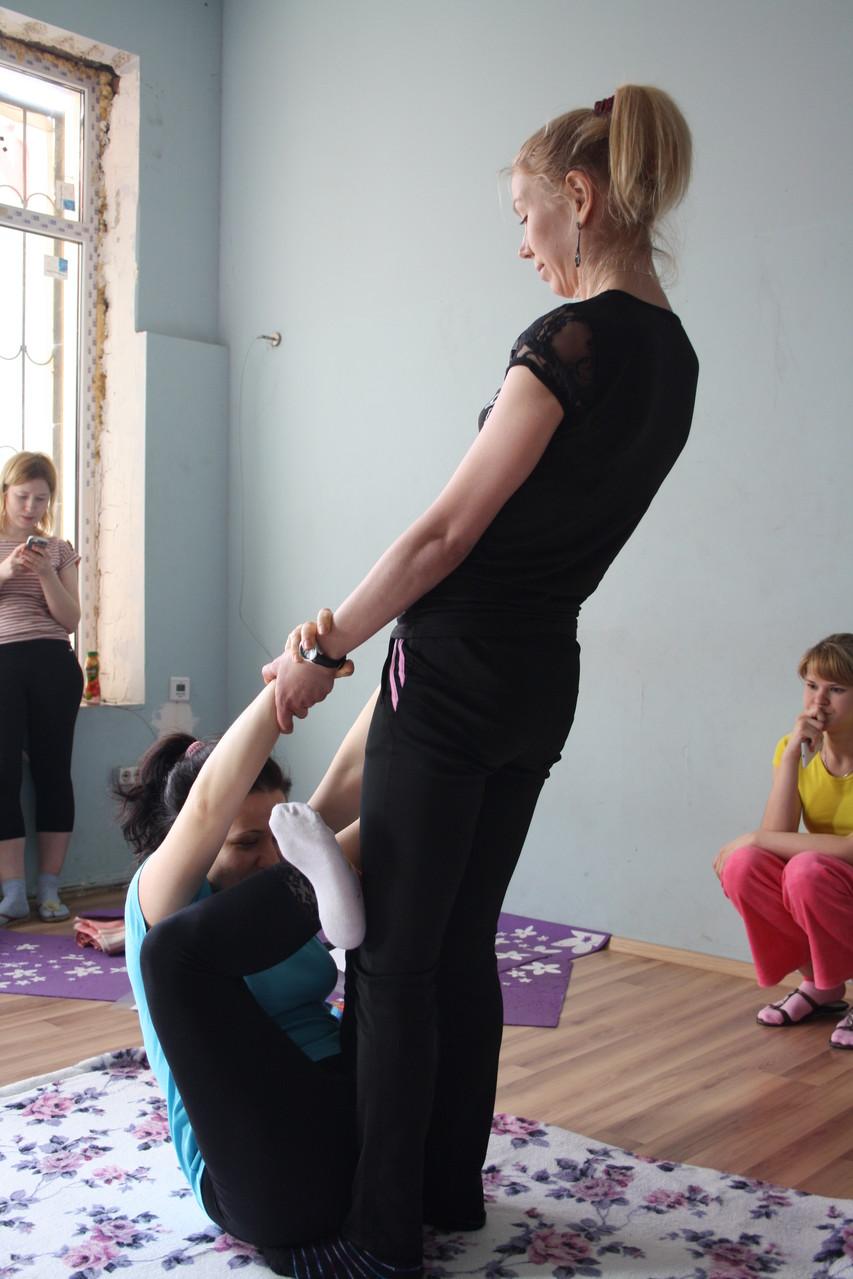 Мастер-класс по тайскому йога-массажу