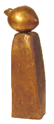 Baumann Herz Bronze