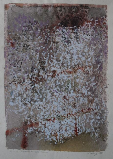 Mark Tobey   BLOSSOMING MOMENTS   Serigrafie   48,0 x 33,5   1971