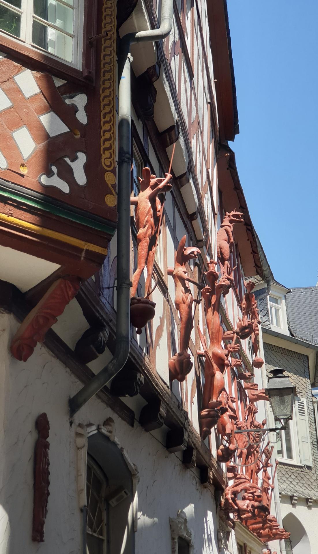 Limburg a.d.L., altes Bäckerhaus