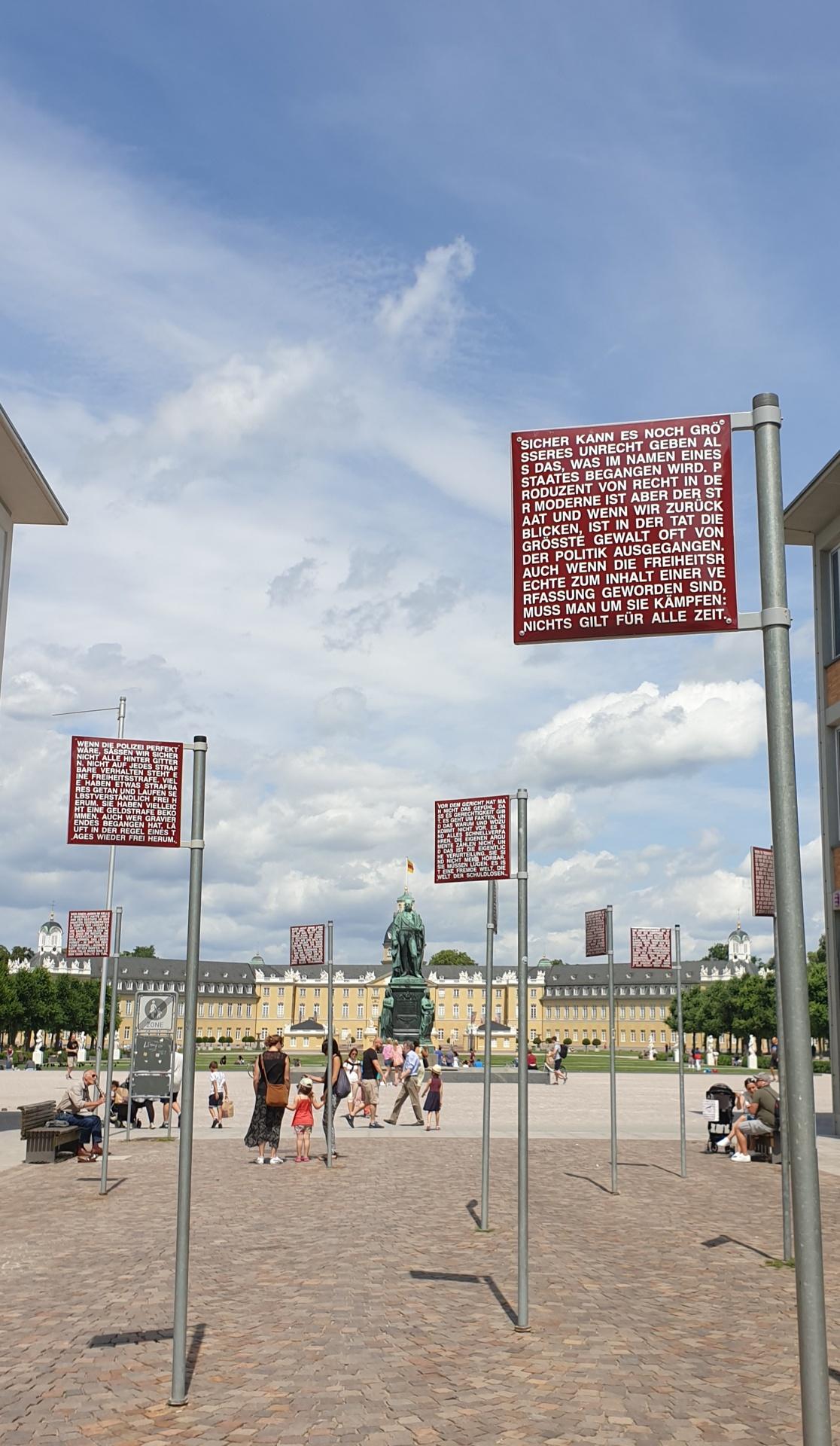 Karlsruhe, Platz der Grundrechte