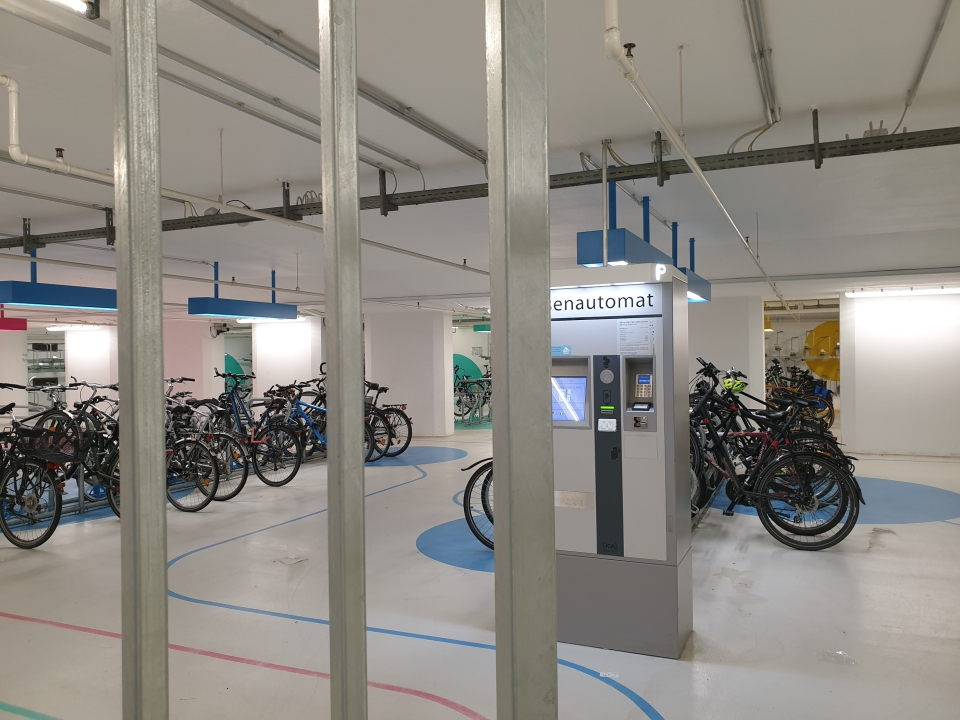 Karlsruhe, Fahrradstation Süd