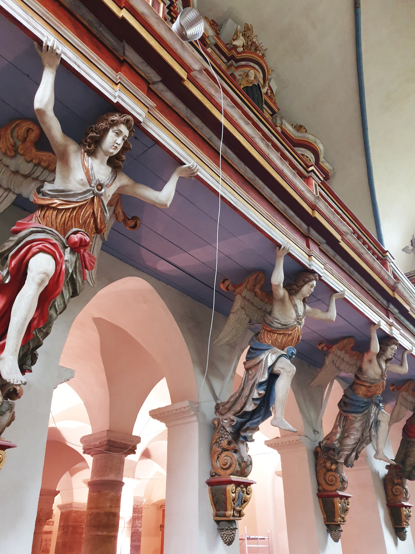 UNESCO Corvey Klosterkirche, innen