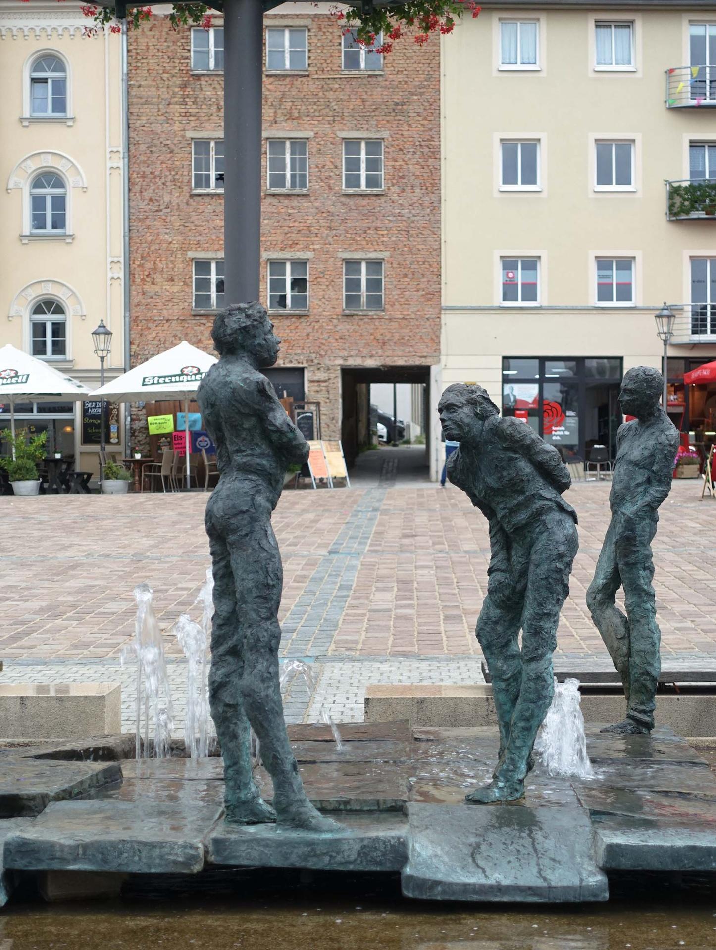 Plauen, König Albert Brunnen