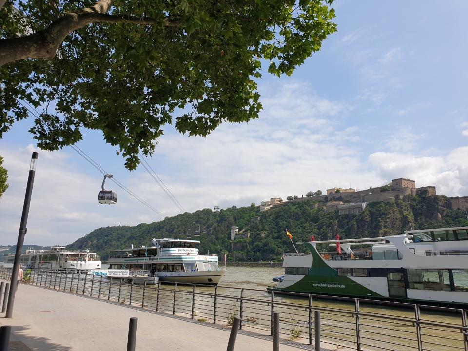 Koblenz mit Seibahn