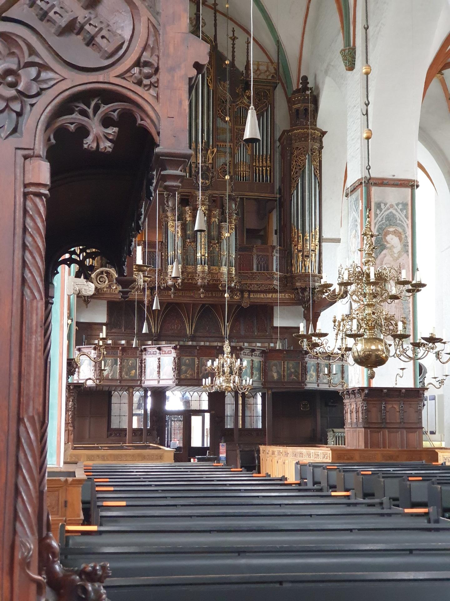 St. Jakobi, Kirche der Schiffer von 1334
