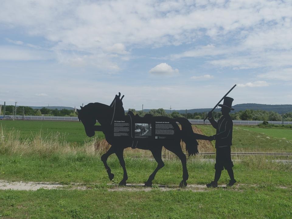 Skulptur Treideldarstellung