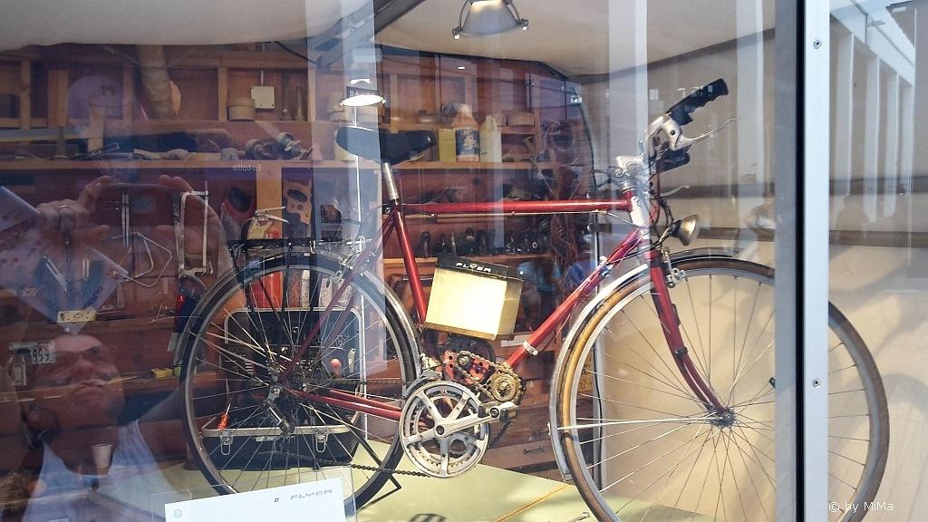 Einer der ersten E-Bikes