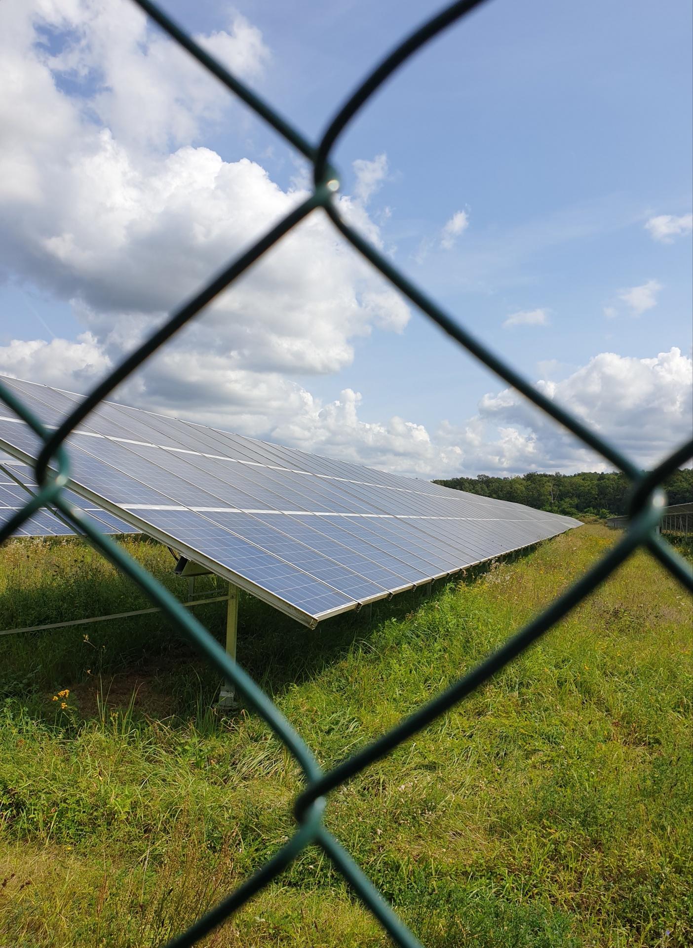 Solarfarm anstatt Kohle