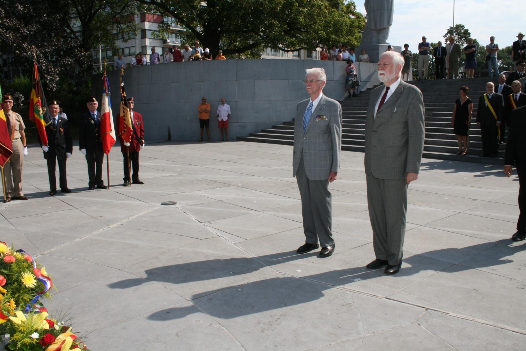 Président Paul Tasset et 1er vice-président Philippe Comanne