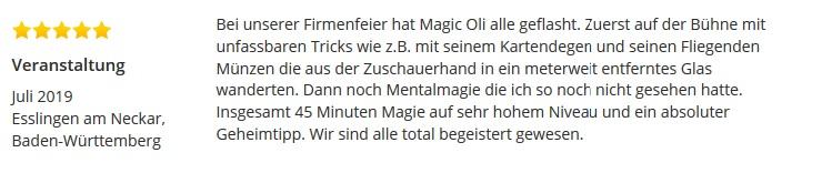 Showacts Stuttgart und Zaubershow mit dem Zauberer für beste Zaubershows die ihre bezaubernden Zuschauer begeistern, Zauberer für stand up Entertainment Magic Oli Wonder in Stuttgart. Erleben sie die stand up & Bühnenshow mit dem Bühnenzauberer Stuttgart