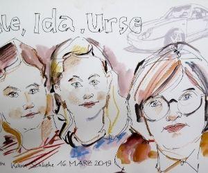 Ein Schnellzeichner München und Karikaturist zeichnet Portaits und Karikaturen meistens schwarz weiß aber auch teilweise mit Farbe. Die Größe eines Bildes sind unterschiedlich und beginnen ab A5 über A4 bis hin zu A3 oder A1 Formate. Einfach anfragen!