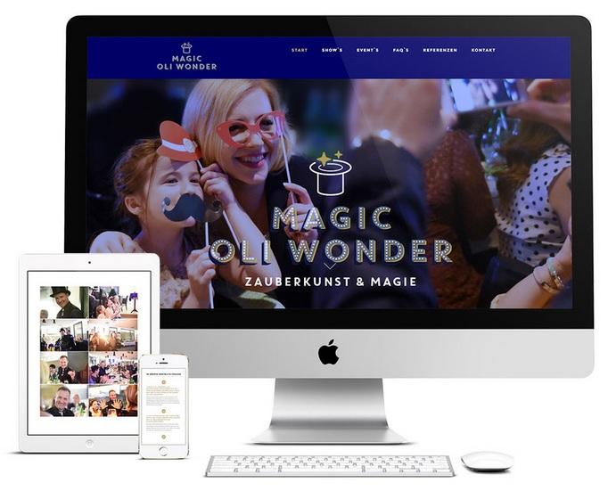 Zoom Show – virtuelle Zaubershow zur Weihnachtsfeier.