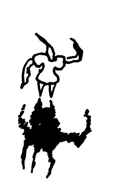 monster, arbeitsbegleitende gedankenskizze, copyright chantal labinski 2013