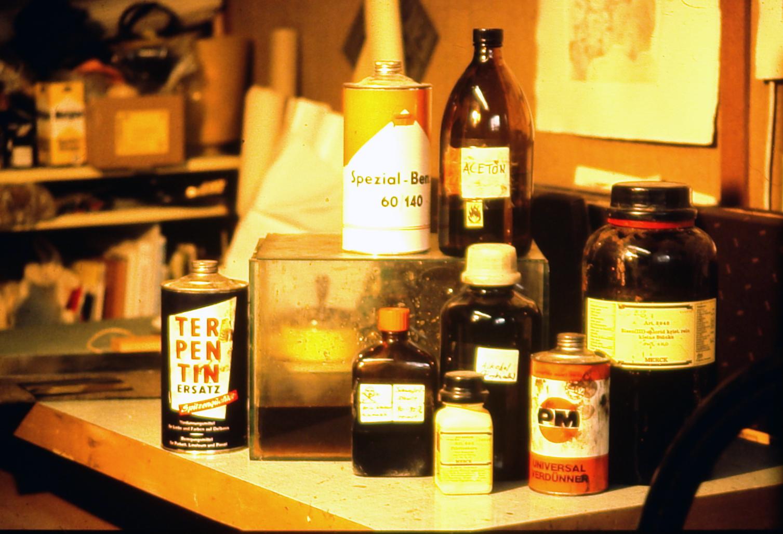 Materialien für die Ätzradierung