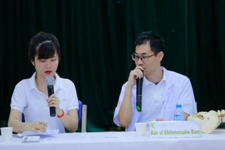 ベトナム 自閉症とカイロについて説明