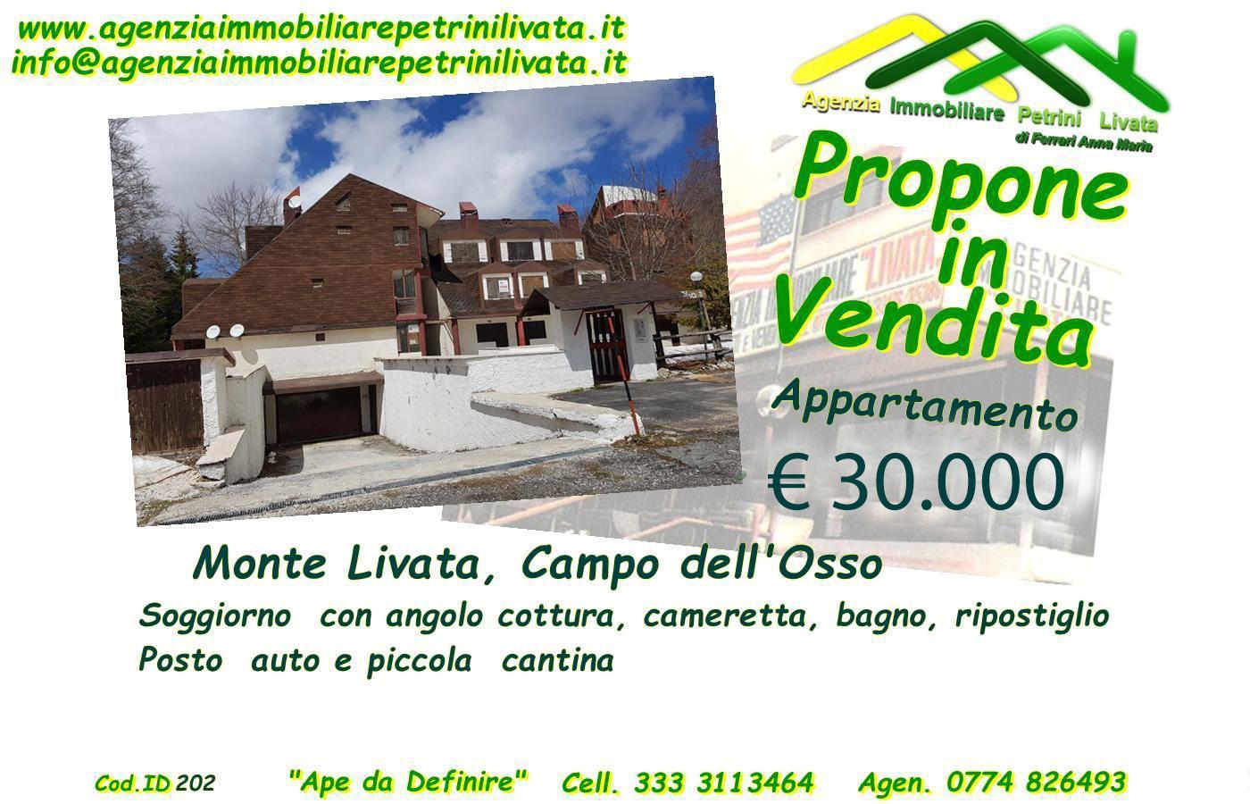 Monte Livata appartamento 35mq(Cod.ID202)