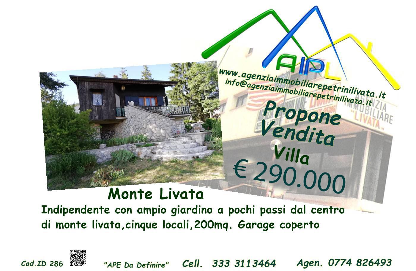 Monte Livata Villa (Cod.Id 286)