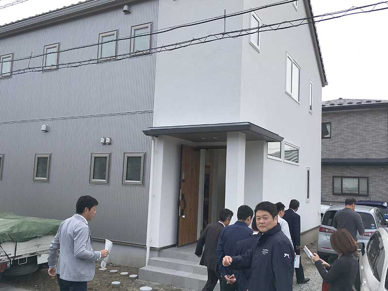 菅原工務店 施工現場見学