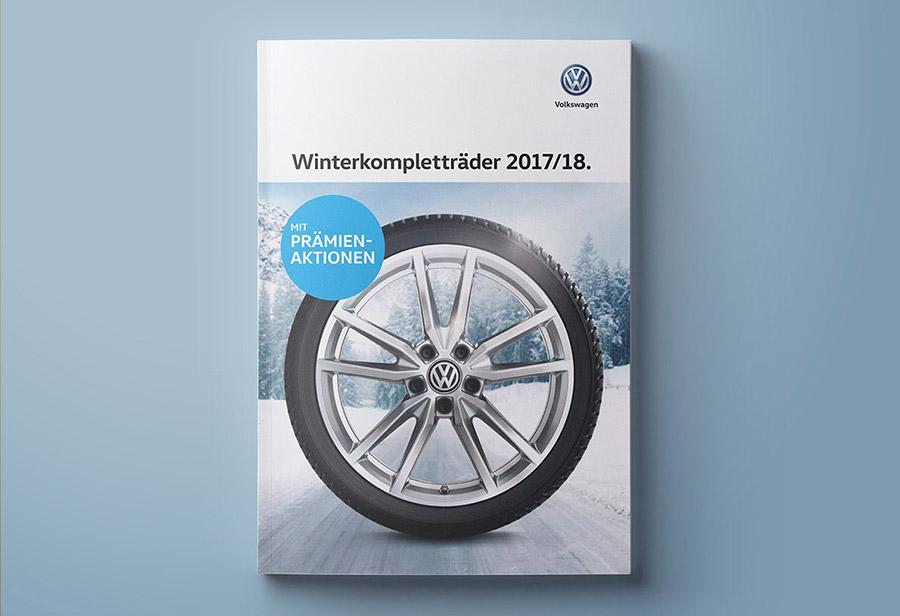 Winterkomplettrad-Katalog 2017/2018, VW ZUBEHÖR, Titel